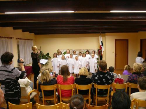 Předvánoční zpívání 2010