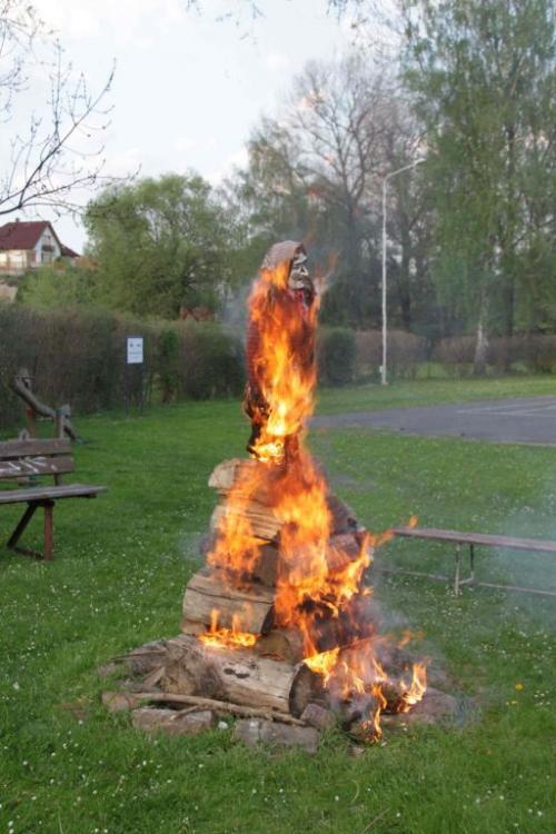...ale hořela dobře