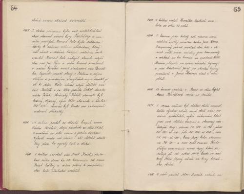Kronika 1924 - 1974 - část 1.