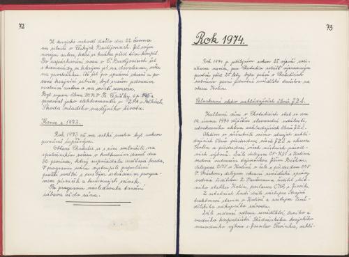 Kronika 1975 - 1989 - část 1.