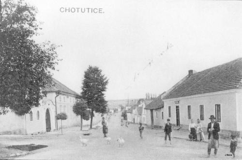 Náves (kolem roku 1900)