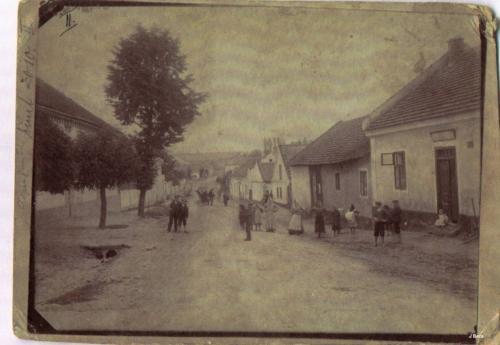 Ulice Průběžná, pohled odkapličky (začátek 20.století)